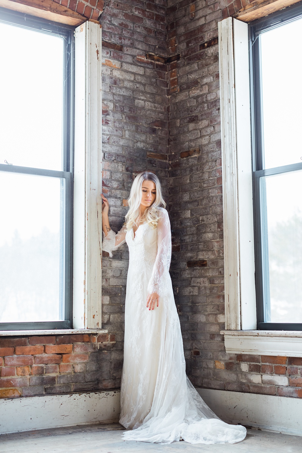 Maine Fine Art Editorial Bridal Photography